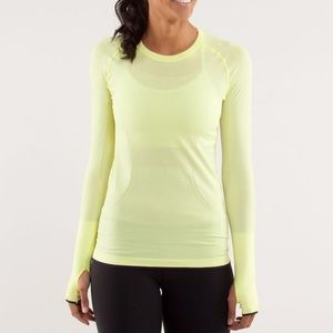 Lululemon Long Sleeve Swiftly Shirt